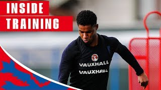 Download England Train Shooting Ahead of Sweden Quarter Final | Inside Training | World Cup 2018 Video