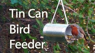 Download How to Make a Tin Can Bird Feeder Video