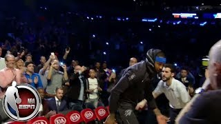 Download New York gives Carmelo Anthony a warm welcome in his return to Madison Square Garden | ESPN Video