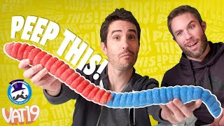 Download Peep This: WORLD'S LARGEST *SOUR* Gummy Worm! | Ep. #29 Video