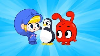 Download A Penguin in The Fridge | #70 | My Magic Pet Morphle | All Episodes | Cartoons for Kids Video