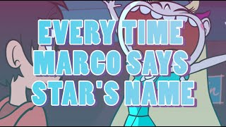 Download Every Time Marco Says Star's Name | Star Vs The Forces of Evil Video
