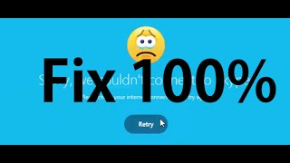 Download How to fix Skype Can't Connect Problem 2016 In Window 8 / 7 & 10 Video