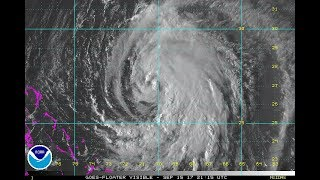 Download HURRICANE JOSE MOVING NORTHWEST 75 MPH WINDS. TROPICS GETTING VERY BUSY Video
