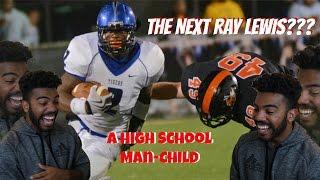 Download A Grown Man Playing High School Football- Reuben Foster High School Highlights Reaction Video