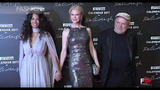 Download PIRELLI CALENDAR 2017 Red Carpet & Interviews Nicole Kidman, Uma Thurman, Charlotte Rampling by FC Video