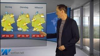 Download Bis 39 Grad - weitere Hitzewoche steht an! (Mod.: Dominik Jung) Video