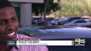 Download Man speaks to ABC15 after being pulled over for air freshener on his rear view mirror Video