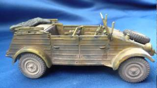 Download Tamiya Kübelwagen Type 82 in 1/35 scale Video