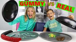 Download GUMMY vs REAL Video