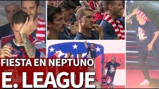 Download Lo mejor de la fiesta del Atlético por la Europa League en Neptuno   Diario AS Video