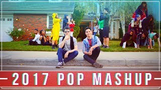 Download 2017 MASHUP!! - TOP Hits in 3 Min (IN REVERSE 😎) Video