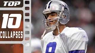 Download Top 10 Worst Single-Season Collapses! | NFL Films Video