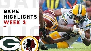 Download Packers vs. Redskins Week 3 Highlights | NFL 2018 Video