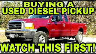 Download BUYING A USED DIESEL PICKUP? Watch this first! Video