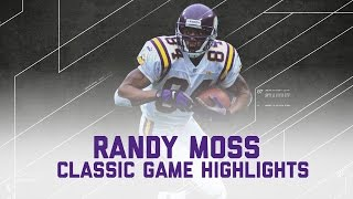Download Randy Moss 168 rec yards & 3 TD Game! | Vikings vs. Lions (Highlights) | NFL Video