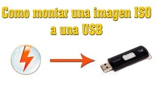Download COMO MONTAR UNA IMAGEN ISO A UNA USB Video