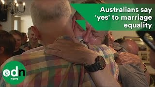 Download Australians say 'yes' to marriage equality Video