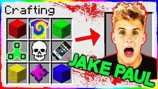 Download Minecraft - How to Summon JAKE PAUL in Crafting Table! Video