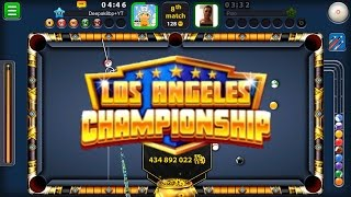 Download 8 Ball Pool New Los Angeles Championship Tournament -Limited Edition- + 14 Win Streak + 10k Subs Video
