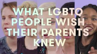 Download Things LGBTQ+ People Wish Their Parents Knew Video