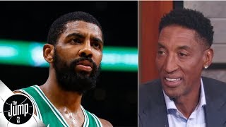 Download Kyrie Irving should join LeBron James and Anthony Davis on the Lakers - Scottie Pippen   The Jump Video