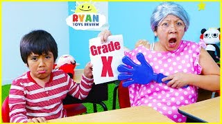 Download Ryan Pretend Play Learning Healthy Choices at School!!! Video