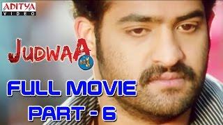 Download Judwa No1 Hindi Movie Part 6/11 Jr.NTR, Nayanatara, Sheela Video