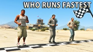 Download GTA V - Which main Character is the Fastest? Video
