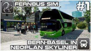 Download Bern-Basel in Neoplan Skyliner - Part 1 (Fernbus Coach Simulator) Video