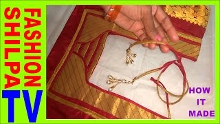 Download How to make Bias Binding, How to make a Fabric Dori for Designer Blouse Video