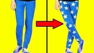 Download 15 طريقة سهلة لتحديث الملابس في دقيقة واحدة Video