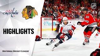 Download Capitals @ Blackhawks 10/20/19 Highlights Video