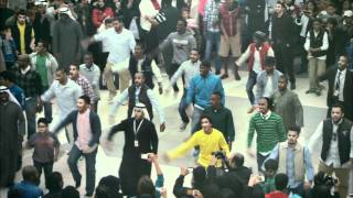 Download Official Zain Kuwait Flashmob - فلاش موب زين الكويت Video