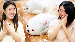 Download I Try Making Cute Seal Mochi For Rie •Tasty Video
