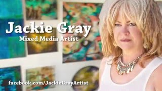 Download 🔷 Jackie Gray 🔷 New Zealand Mixed Media Artist 🔷 Video