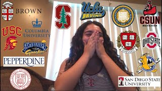 Download COLLEGE DECISION REACTIONS (IVY, BERKELEY, USC, STANFORD, & MORE) Video