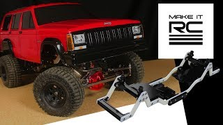 Download 3D Printed 1/10 RC Crawler Chassis Overview & Testing + Body Line Detailing on Jeep Video