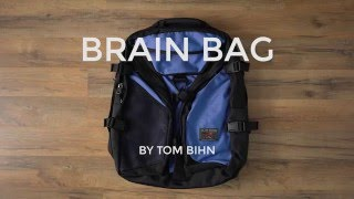 Download The Brain Bag Backpack by TOM BIHN Video