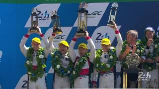 Download 2017 24 Hours of Le Mans - Podium - REPLAY Video