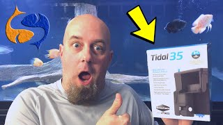 Download This Was A Surprise! Seachem Tidal 35 Hang On Back Aquarium Filter Unboxing/Install/Review Video