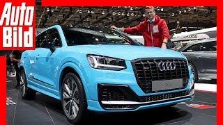Download Audi SQ2 (Paris 2018) Sitzprobe / Review / Messe Video