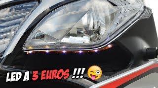 Download INSTALLER DES LED MOTO POUR 3 EUROS !!! Video