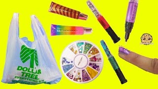 Download Dollar Tree Store Scented 3 in 1 Nail Polish Glitter Art Pens + Sticker Nails Tryout Video Video