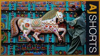 Download Turning buses into art in Pakistan Video