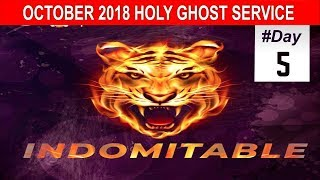 Download OCTOBER 2018- RCCG HOLY GHOST SERVICE ″Indomitable″ Video