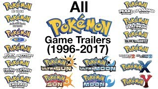 Download All Pokémon Game Trailers (1996-2017) Video