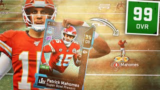 Download 99 MVP PATRICK MAHOMES SHOULD BE BANNED FROM MADDEN 20!! (World's Greatest Card!) Video