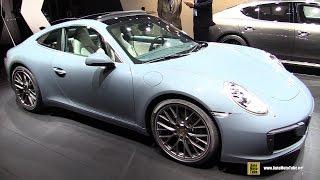 Download 2017 Porsche 911 Carrera - Exterior and Interior Walkaround - 2015 Frankfurt Motor Show Video