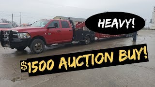 Download RAM 3500 Cummins handle Heavy Load ? + $1500 Auction BUY Video